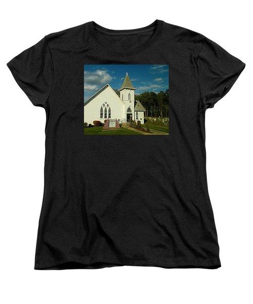 Indian Mission United Methodist Church Harbeson Delaware Women's T-Shirt (Standard Cut) by Pamela Hyde Wilson