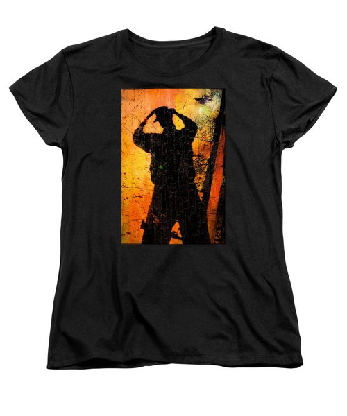 Women's T-Shirt (Standard Cut) featuring the photograph Indiana  by Aaron Berg