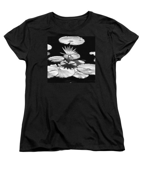 Infrared - Water Lily 02 Women's T-Shirt (Standard Cut) by Pamela Critchlow
