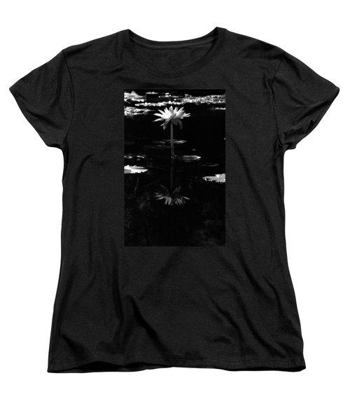 Infrared - Water Lily 03 Women's T-Shirt (Standard Cut) by Pamela Critchlow