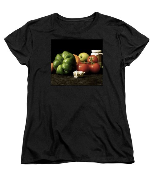 Women's T-Shirt (Standard Cut) featuring the photograph Ingredients by Elf Evans