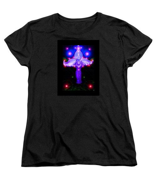 Inner Galactic Symphonics Women's T-Shirt (Standard Cut) by Susanne Still