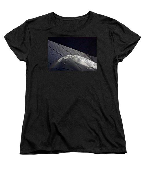 Inner Space 2 Women's T-Shirt (Standard Cut) by Linda Bianic