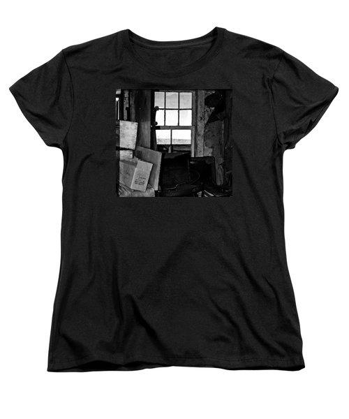 Inside Abandonment 2 Women's T-Shirt (Standard Cut) by Tara Lynn