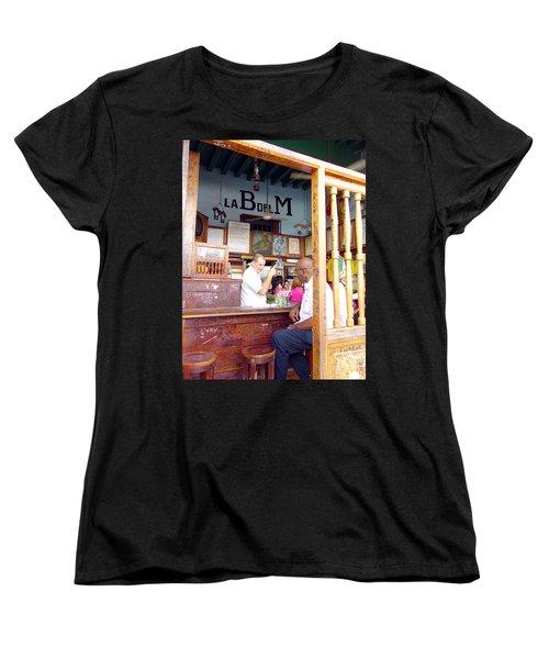 Inside La Bodeguita Del Medio Women's T-Shirt (Standard Cut) by Valentino Visentini