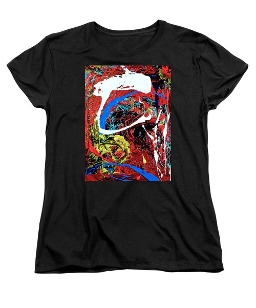 Inside The Big Fish Women's T-Shirt (Standard Cut) by Elf Evans