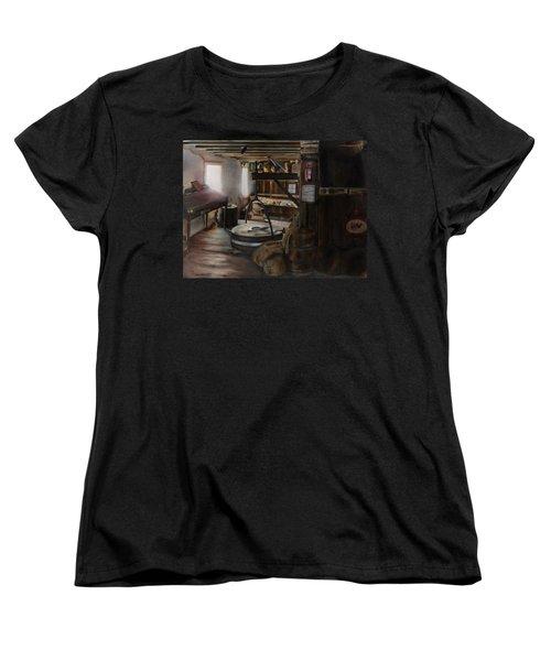 Inside The Flour Mill Women's T-Shirt (Standard Cut) by Lori Brackett