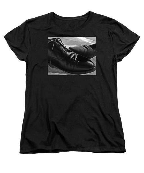 Women's T-Shirt (Standard Cut) featuring the photograph Instep by Lisa Phillips