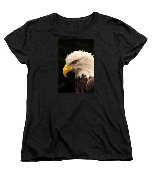 Intense Stare Women's T-Shirt (Standard Cut) by Mike Martin
