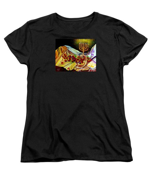 Intercession Women's T-Shirt (Standard Cut) by Nancy Cupp