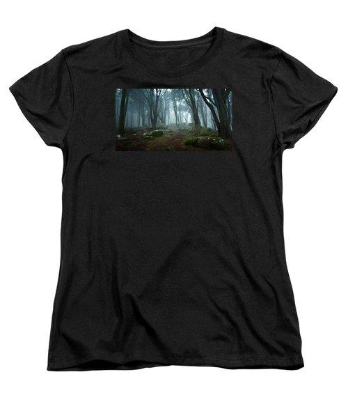 Into The Light Women's T-Shirt (Standard Cut) by Jorge Maia