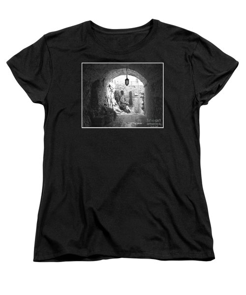Women's T-Shirt (Standard Cut) featuring the photograph Into The Light by Victoria Harrington