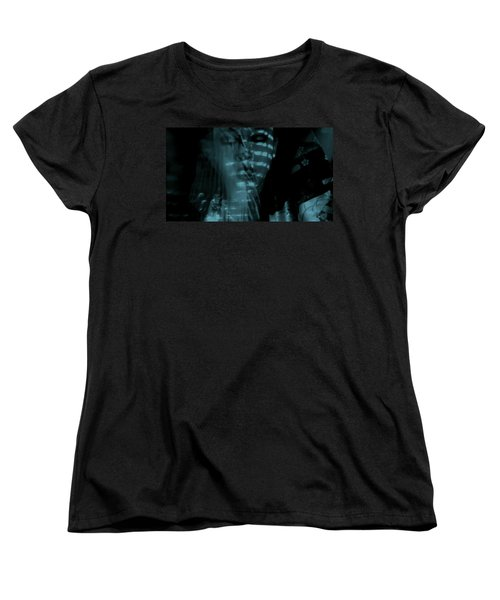 Women's T-Shirt (Standard Cut) featuring the photograph Into The Lull  by Jessica Shelton
