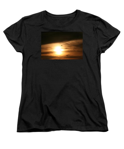 Women's T-Shirt (Standard Cut) featuring the photograph Into The Sun by David S Reynolds