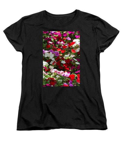 iPhone Case - Summer Carpet Women's T-Shirt (Standard Cut) by Alexander Senin