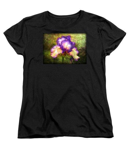Iris Beauty Women's T-Shirt (Standard Cut) by Lilia D