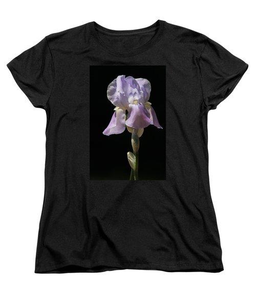 Iris Women's T-Shirt (Standard Cut) by Trina  Ansel
