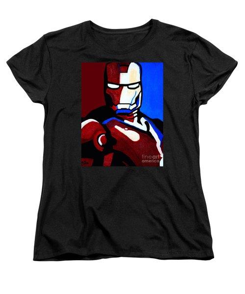 Iron Man 2 Women's T-Shirt (Standard Cut) by Barbara McMahon