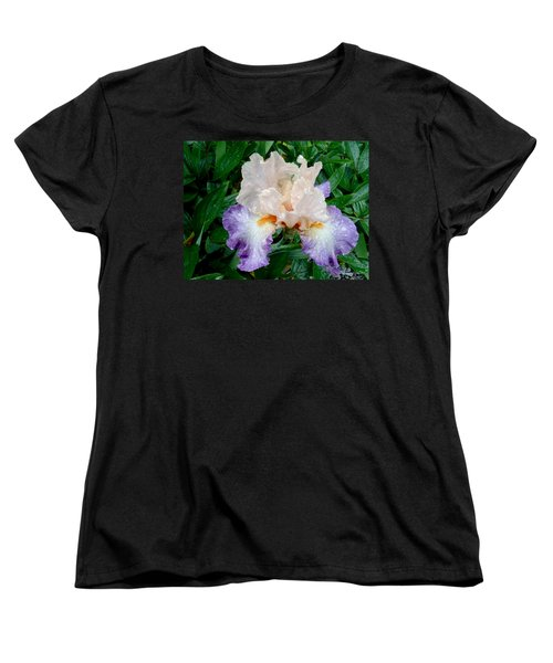 Irresistible Iris Women's T-Shirt (Standard Cut) by Roxy Hurtubise