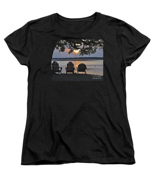 Island Time Women's T-Shirt (Standard Cut) by Carol  Bradley