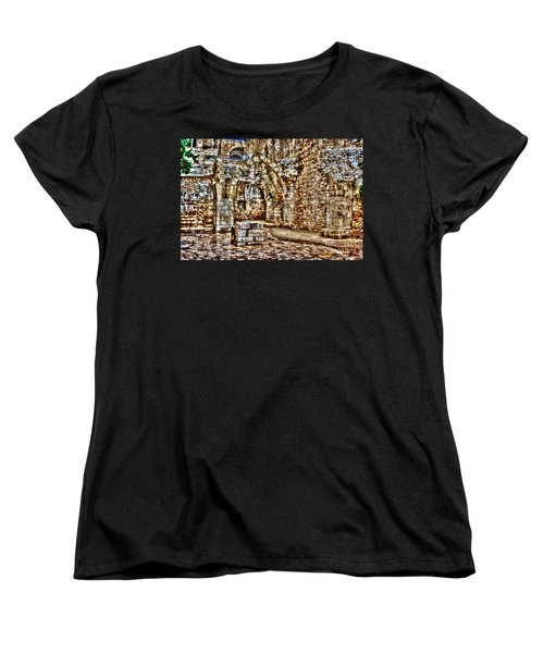 Women's T-Shirt (Standard Cut) featuring the photograph Israels Ruins by Doc Braham