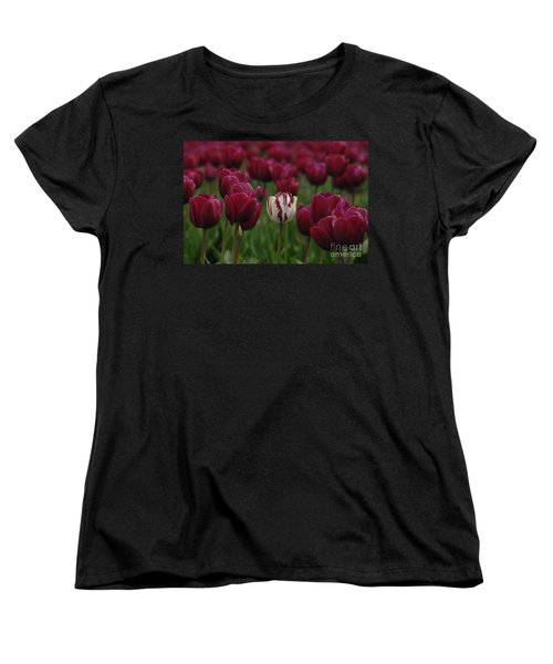 It Is Beautiful Being Different Women's T-Shirt (Standard Cut) by Bob Christopher