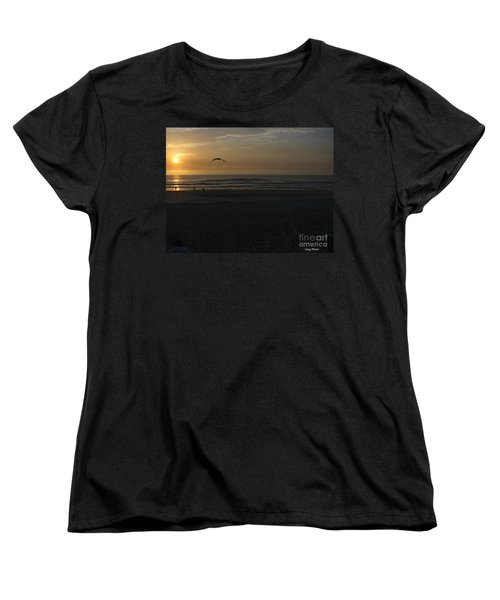 Women's T-Shirt (Standard Cut) featuring the photograph It Starts by Greg Patzer