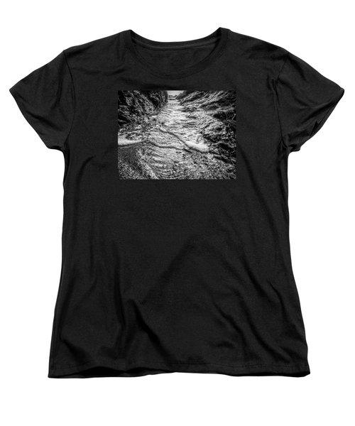 It's A Rush Browns Beach  Women's T-Shirt (Standard Cut) by Roxy Hurtubise