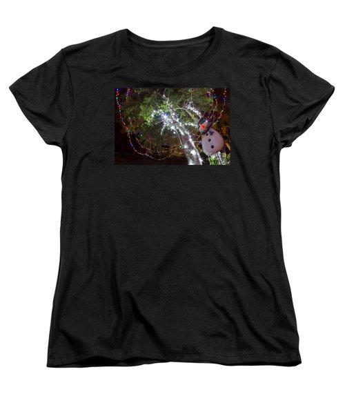 Its Christmas Time Again Women's T-Shirt (Standard Cut) by Gary Holmes