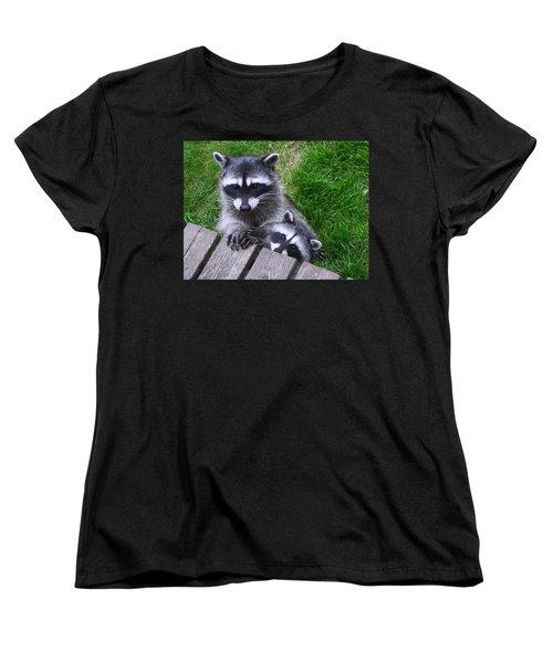It's Nice To Meet You Women's T-Shirt (Standard Cut) by Kym Backland