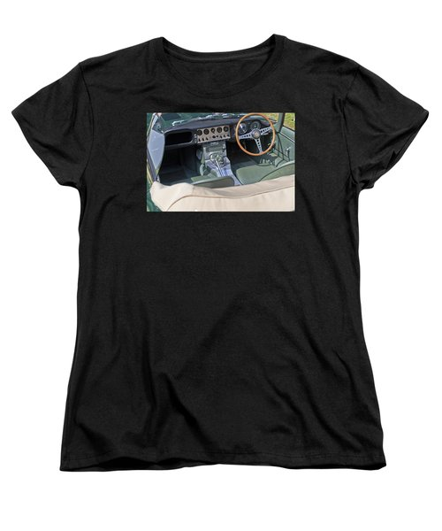 Jaguar E-type Series 1 Women's T-Shirt (Standard Cut) by Maj Seda