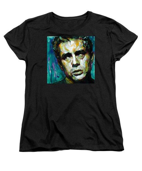 James... Women's T-Shirt (Standard Cut) by Laur Iduc