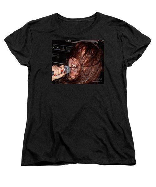 Women's T-Shirt (Standard Cut) featuring the photograph Japanese Intensity by Steven Macanka