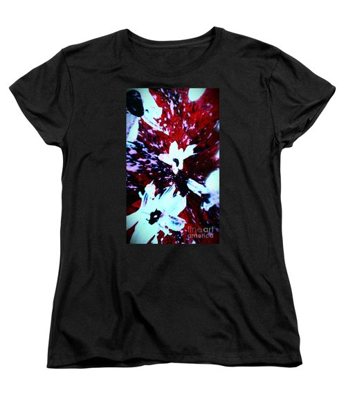 Women's T-Shirt (Standard Cut) featuring the painting Jasmine In My Mind  by Jacqueline McReynolds
