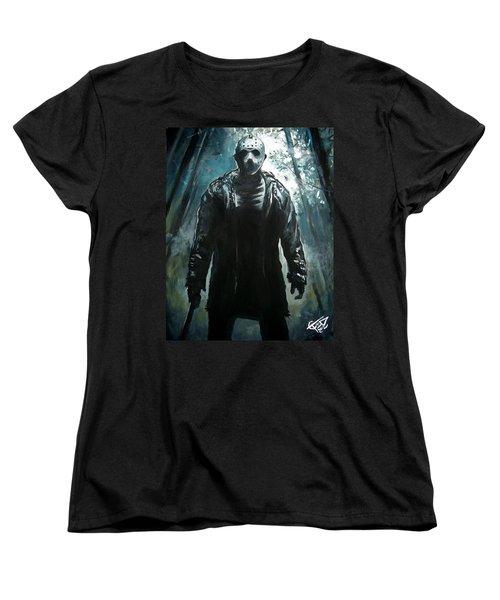 Jason Women's T-Shirt (Standard Cut) by Tom Carlton