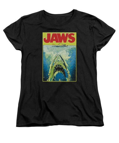 Jaws - Bright Jaws Women's T-Shirt (Standard Cut) by Brand A