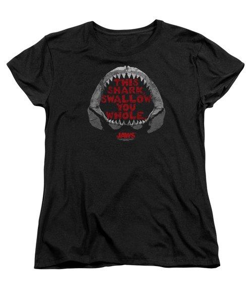 Jaws - This Shark Women's T-Shirt (Standard Cut) by Brand A
