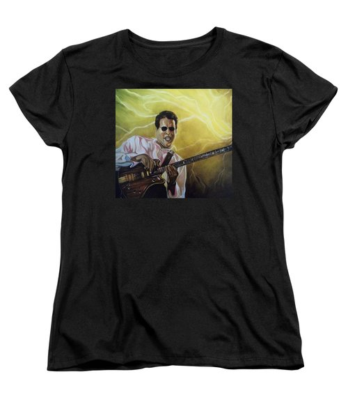 Women's T-Shirt (Standard Cut) featuring the painting Jazz by Emery Franklin