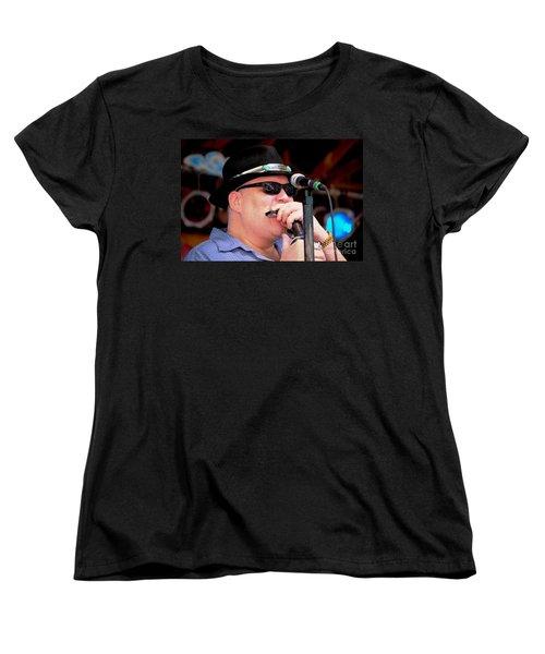 John Popper Women's T-Shirt (Standard Cut) by Angela Murray