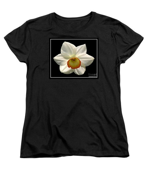 Women's T-Shirt (Standard Cut) featuring the photograph Jonquil 1 by Rose Santuci-Sofranko
