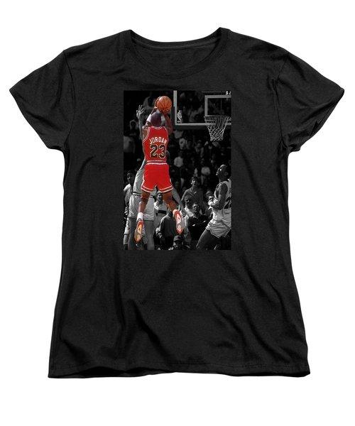 Jordan Buzzer Beater Women's T-Shirt (Standard Cut) by Brian Reaves