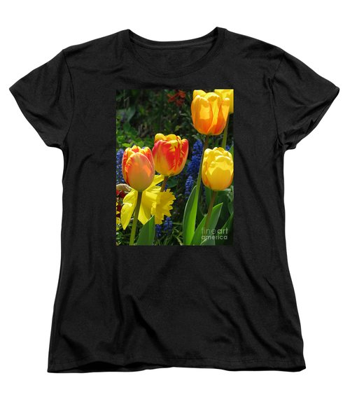 Women's T-Shirt (Standard Cut) featuring the photograph Jubilance by Rory Sagner