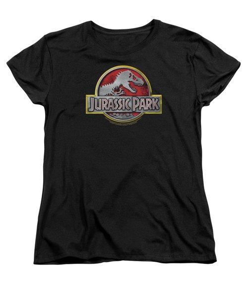 Jurassic Park - Logo Women's T-Shirt (Standard Cut) by Brand A