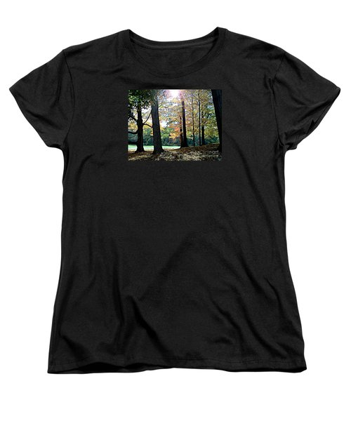 Just A Glimpse Of Sunlight Women's T-Shirt (Standard Cut) by Rita Brown