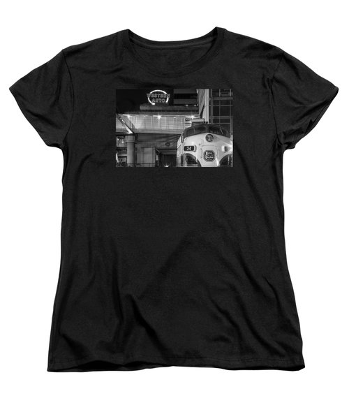 Kansas City Night Train Women's T-Shirt (Standard Cut) by Steven Bateson