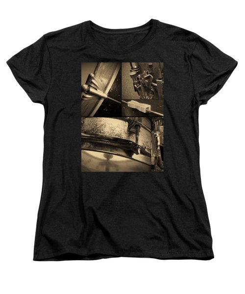 Keeping Time Women's T-Shirt (Standard Cut) by Photographic Arts And Design Studio