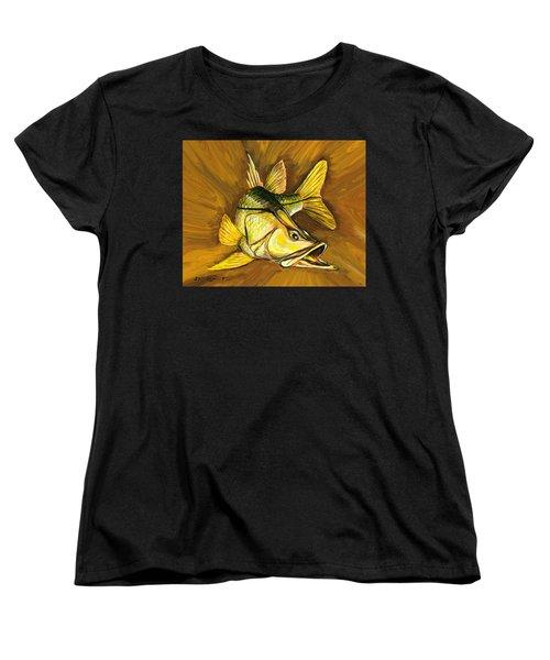 Kelly B's Snook Women's T-Shirt (Standard Cut) by Steve Ozment