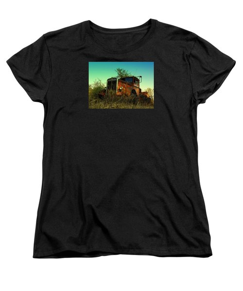 Kenworth 3 Women's T-Shirt (Standard Cut) by Salman Ravish