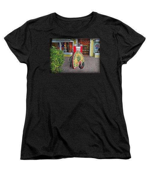 Key Lime Pie Co. Women's T-Shirt (Standard Cut) by Hanny Heim