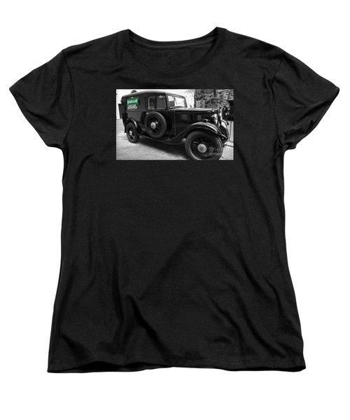 Kilbeggan Distillery's Old Car Women's T-Shirt (Standard Cut) by RicardMN Photography